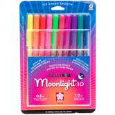 Neon Moonlight GellyRoll Pens - 10 Piece Set